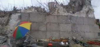 Монумент участникам боевых действий на Саур-Могиле сравняли с землей. Фото