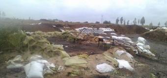 Мариупольский блокпост ураган разнес лучше всяких «Градов». Фото