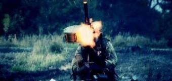 Как украинские бойцы отбивают атаку в районе Песок. Видео с передовой