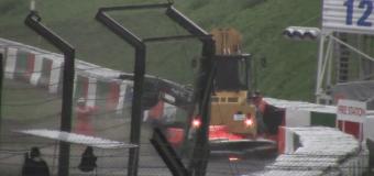 Гонщик Формулы-1 едва не погиб во время Гран-при Японии. Видео