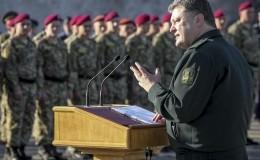 Порошенко выбрал остров для награждения украинских военных. Фото