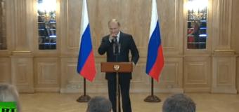 Видео пошлости от Путина: как из бабушки сделать дедушку