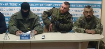 Бойцы бывшего батальона «Шахтерск» приехали охранять Запорожье. Фото
