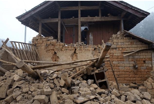 В китайской провинции за час произошло три землетрясения. Фото