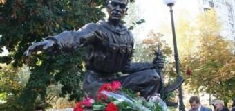 В Киеве открыли памятник воинам, которые участвовали в АТО. Фото