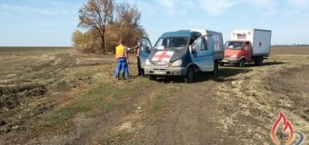 Волонтеры «Черного тюльпана» ищут тела погибших в зоне АТО. Фото