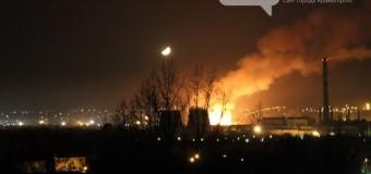 На краматорском НКМЗ произошел пожар. Видео