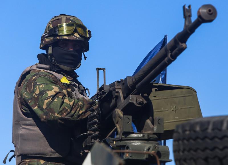 Как украинские войска защищают Дебальцево. Фото