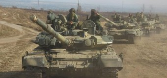 В сети опубликованы новые доказательства участия танков из России в боях на Донбассе. Фото