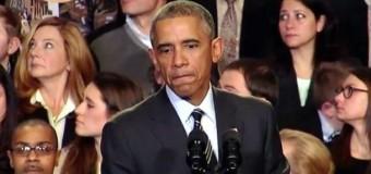Барака Обаму обвинили во лжи во время его выступления. Видео