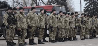 Бойцы запорожского спецназа отправились на передовую с посланием для Путина. Видео