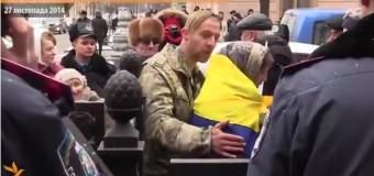 Казак Гаврюлик не прошел фейсконтроль: охрана не пускала его в ВР. Видео