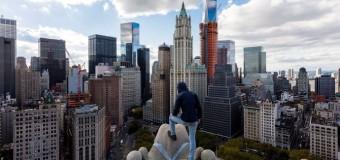 Экстремал показал невероятную красоту Нью-Йорка. Фото