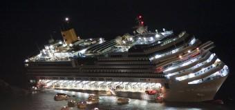 Капитан затонувшего Costa Concordia сбежал, бросив умирать пассажиров. Видео