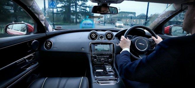 «Jaguar» создал «прозрачный» автомобиль. Видео