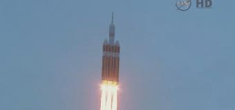 США запустили космический корабль. Видео
