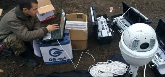 Волонтеры для АТО разработали необычные устройства наблюдения. Фото