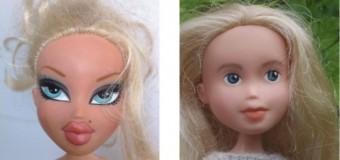 Как куклы преображаются, если убрать макияж. Фото