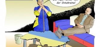 Фотожабы западных СМИ на события в Украине и России. Фото