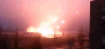 Опубликовано видео стрельбы из «Град» рядом с жилыми домами
