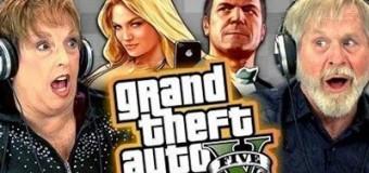 Видео, как пожилые люди играют в GTA V, «взорвало» интернет
