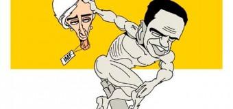 Западный политический юмор в фотожабах на последние события. Фото
