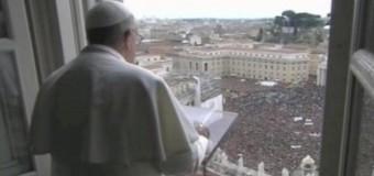 Ватикан заменил голубей мира на воздушные шары. Видео
