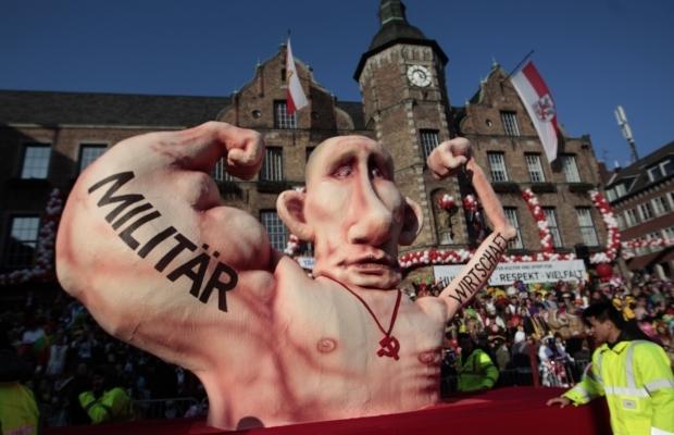 На карнавале в Германии посмеялись над Путиным. Фото