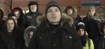 Обращение россиян к согражданам: Россия превратилась в тоталитарного монстра. Видео