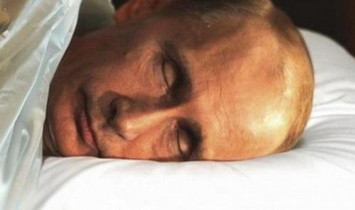 Путин умер, заболел или сбежал? Фотожабы