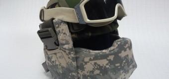 Для ВСУ разработана баллистическая маска «Киборг». Видео
