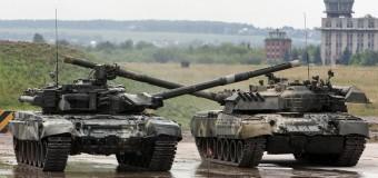 Россия продолжает ввод танков на территорию Донецка. Фото