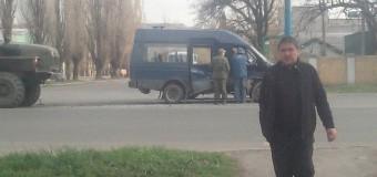 На Донбассе «Урал» боевиков влетел в маршрутку с людьми. Фото