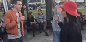 Жителям оккупированного Донецка устроили украиноязычный опрос. Видео