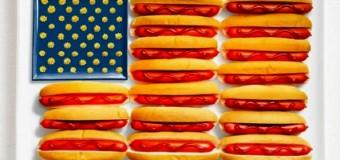 Как государственные флаги съедобными стали. Фото