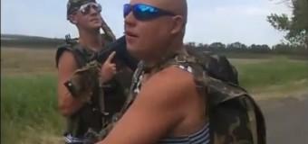 Украинские десантники устроили «троллинг» киношному спецназу РФ. Видео
