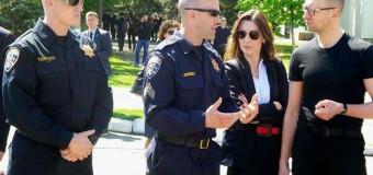 Как тренируются будущие патрульные «полицейской академии». Фото