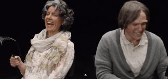 Эксперимент: молодая пара увидела друг друга в старости. Видео