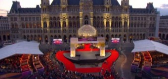 В Австрии начался юбилейный 60-й песенный конкурс «Евровидение». Фото