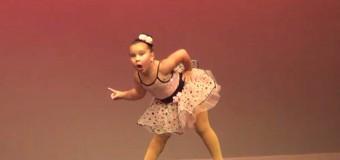 Дерзкий танец 6-летней девочки «покорил» Youtube. Видео