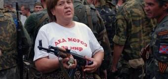 В Донецк приехал «Дед Мороз». Видео