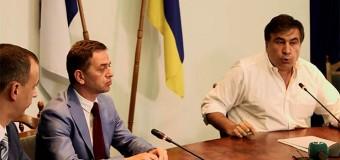 Саакашвили обвинил одесских прокуроров в рэкете. Видео