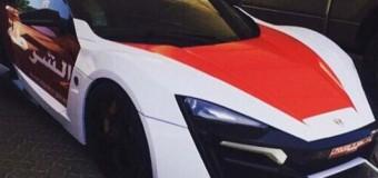 Полиция Абу-Даби будет догонять преступников на самом дорогом суперкаре. Видео