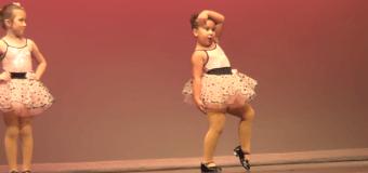 Зажигательный танец маленькой девочки собрал почти 3 млн просмотров. Видео