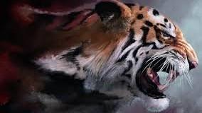 Тбилисские подростки пугают прохожих тигром