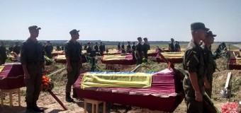 Под Запорожьем похоронили 57 неопознанных бойцов АТО. Фото