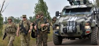Турчинов побывал в зоне АТО. Фото