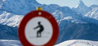 Лыжники-экстремалы покоряют сеть. Видео