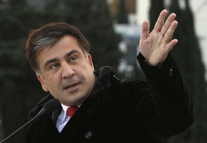 Саакашвили захватил комитет Верховной рады