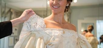 Англичанка надела на свою свадьбу 120-летнее платье. Фото